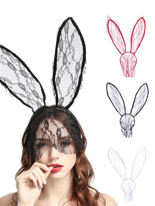 Halloween Unique Lace Rabbit Headpieces