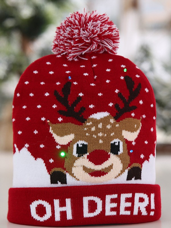 Christmas Pretty Polyester Hats
