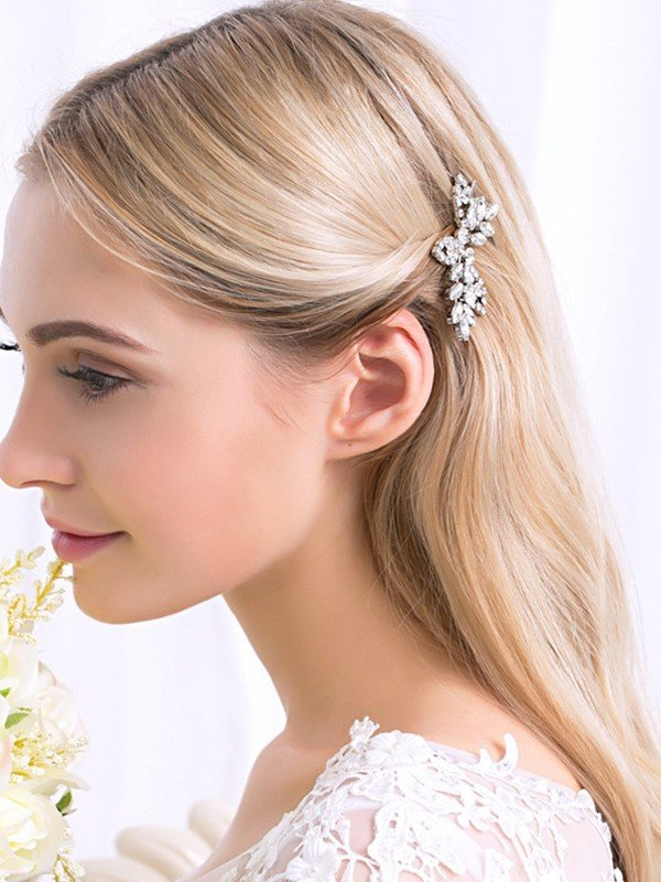Exquisite Alloy With Rhinestone Hairpins