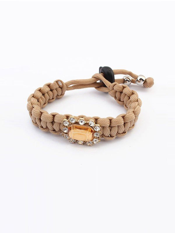 Occident All-match Woven Concise Hot Sale Bracelets