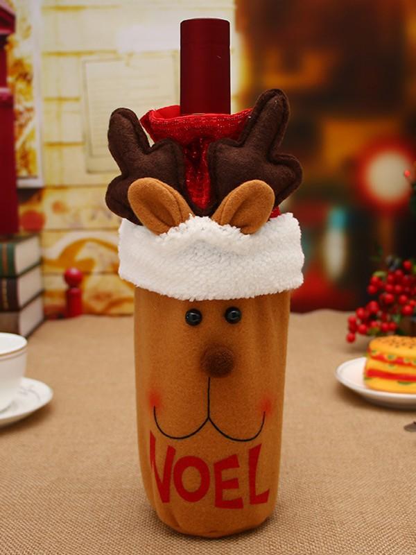 Trendy Cloth With Wapiti Christmas Decoration