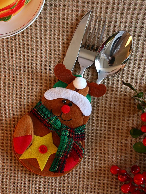 Christmas Gorgeous Wapiti Cutlery Cover