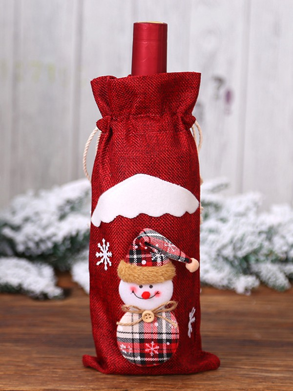 Awesome Cloth With Snowman Christmas Decoration