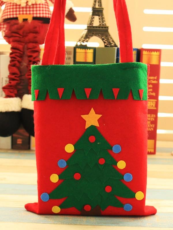 Christmas Graceful Tree Cloth Handbags