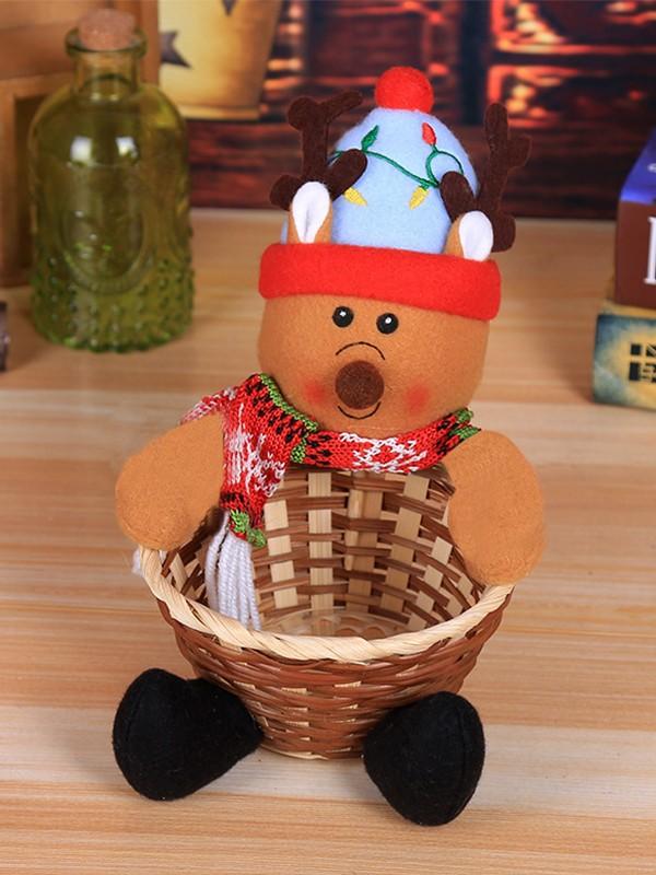 Bright Cloth With Wapiti Christmas Decoration