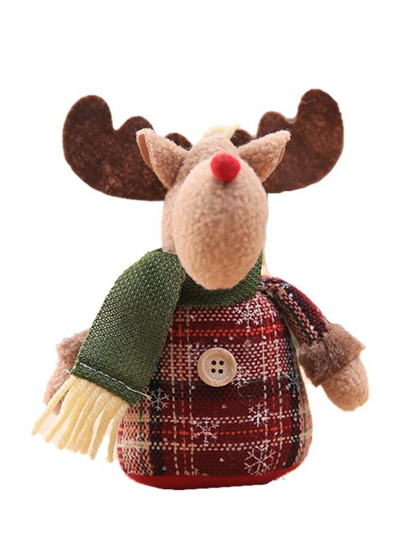 Beautiful Cloth With Wapiti Christmas Decoration