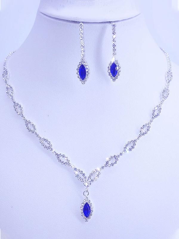 Gorgeous Rhinestone Jewelry Sets For Women