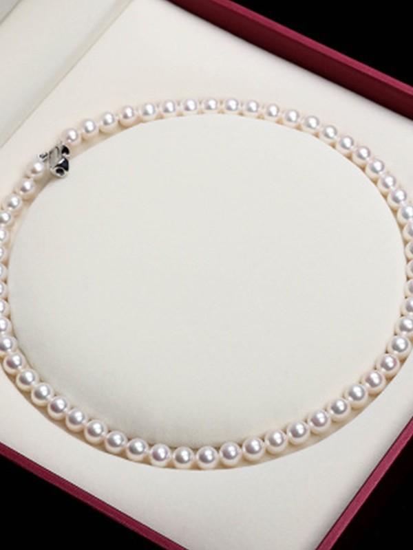 Elegant Pearl Ladies's Necklaces
