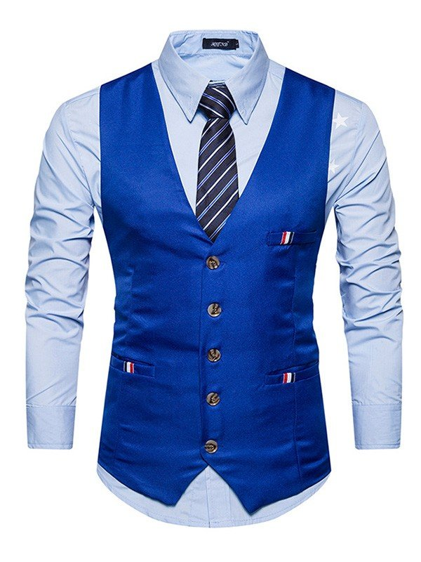 Classic Cotton Men's Vest/Waistcoat