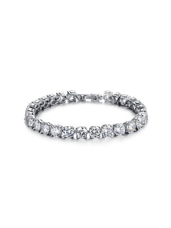 Ladies' Outstanding Titanium Rhinestone Bracelets