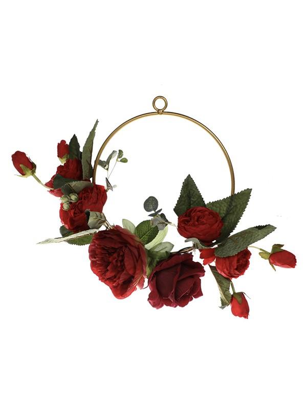 Delicate Round Plastic Bridal Bouquets