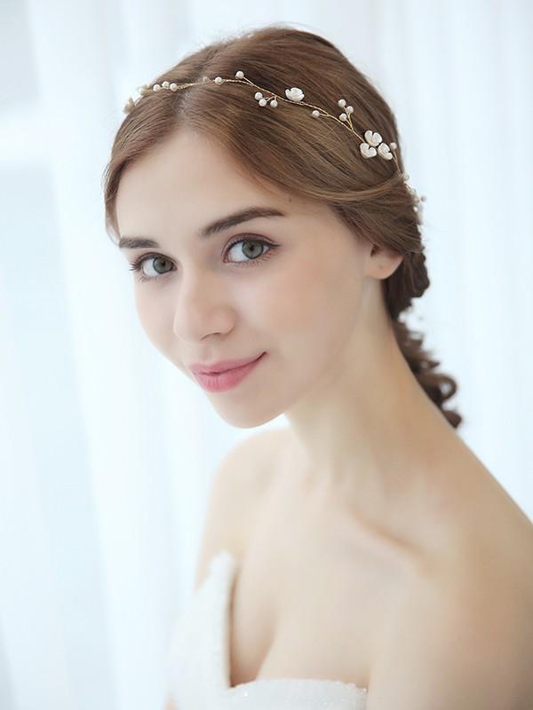 Elegant Pearls Headpieces