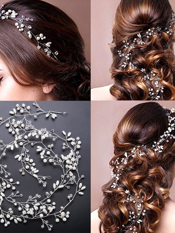 Stunning Pearls Headpieces