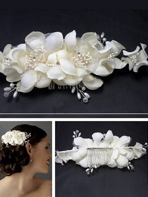 Nice Cloth With Pearl Headpieces