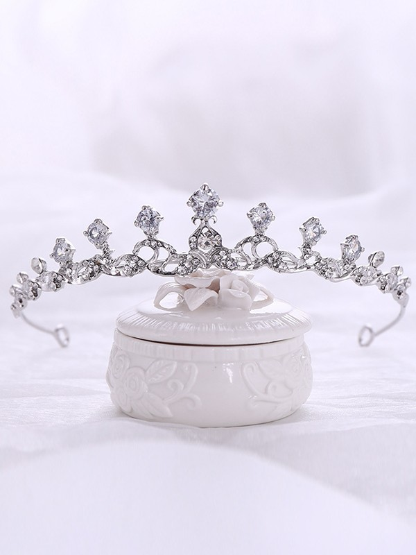 Brilliant Alloy With Rhinestone Headpieces