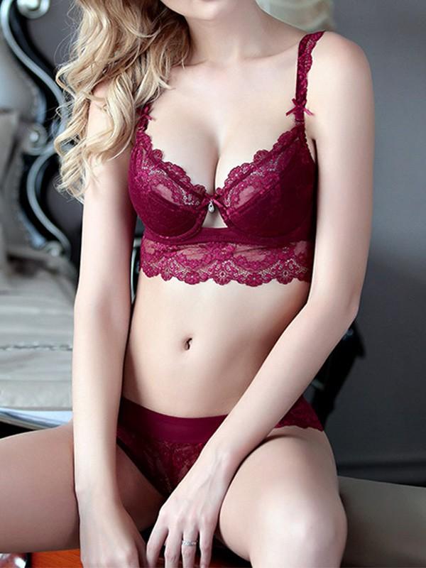 Girly Lace Bra Sets