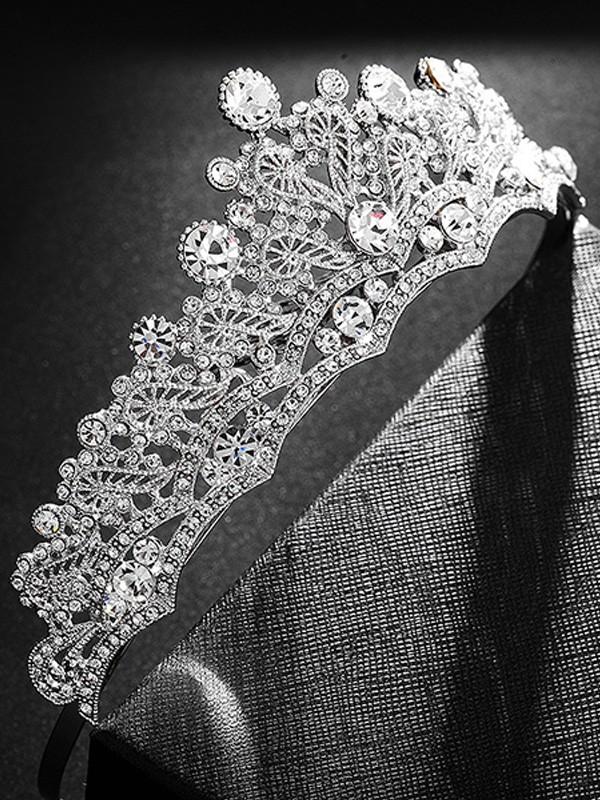 Bridal Gorgeous Alloy With Rhinestone Headpieces
