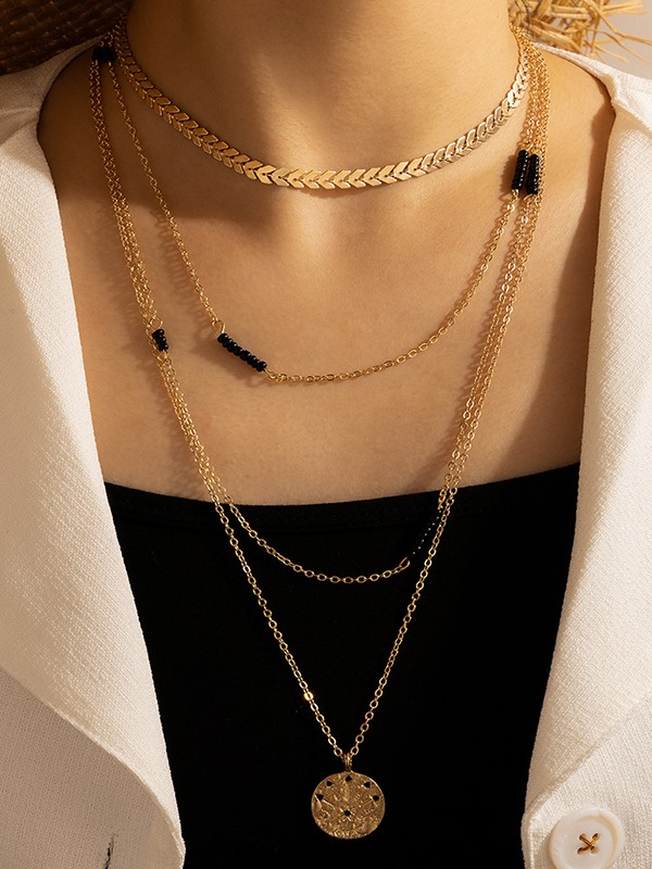 Nice Alloy Hot Sale Necklaces For Ladies