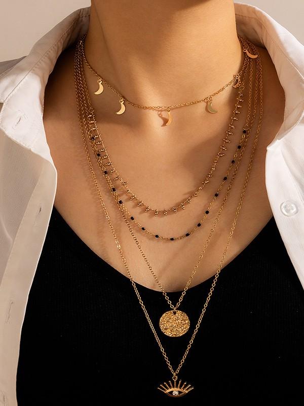 Pretty With Rhinestone Alloy Necklaces