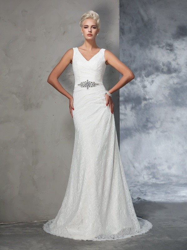 Trumpet Lace Wedding Dress