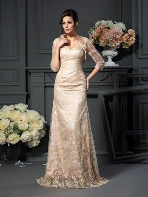 Net 3/4 Sleeves Special Occasion Wrap