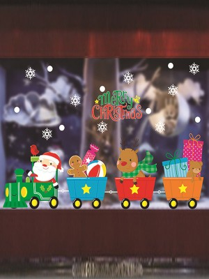 Christmas Amazing PVC Static Stickers