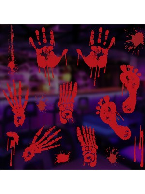 Halloween Nice Paper Static Stickers