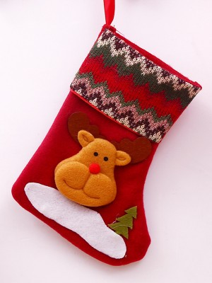 Christmas New Hot Cloth Santa Socks