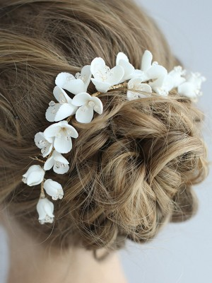 Stunning Alloy With Flower Headpieces