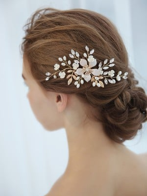 Unique Czech Imitation Pearl Headpieces