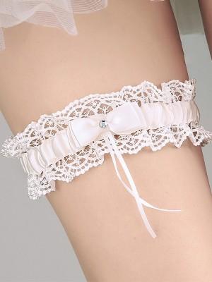 Fashion Bridal/Feminine Cloth With Lace/Bowknot Garters