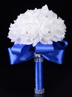 Round Foam Bridal Bouquets