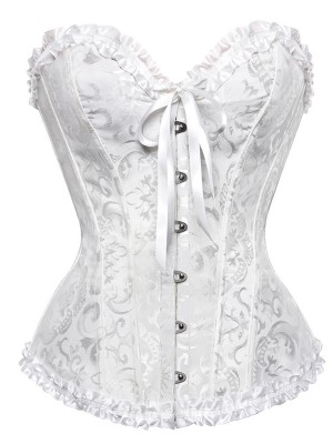Comfy Women's Nylon With Bowknot Corsets