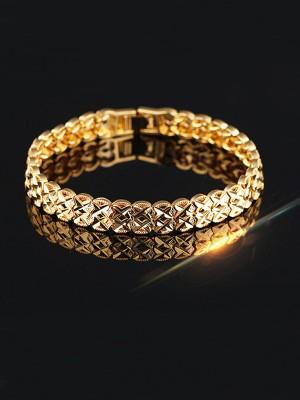Ladies' Hollow Out Copper Bracelets