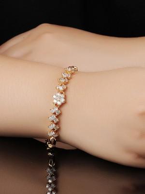 Ladies' Lovely Copper Flower Bracelets
