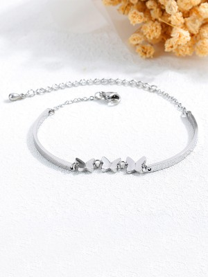 Exquisite Titanium With Butterfly Bracelets