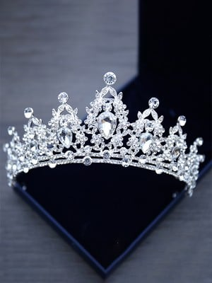 Elegant Alloy With Rhinestone Headpieces For Women