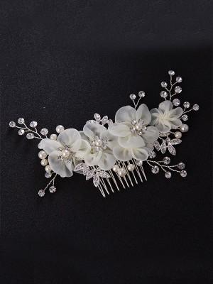 Stunning Czech Pearl Headpieces