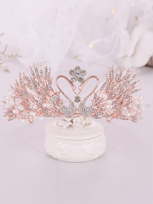 Luxurious Alloy With Rhinestone/Imitation Pearl Headpieces