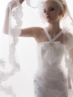 Tulle Lace Wedding Veils
