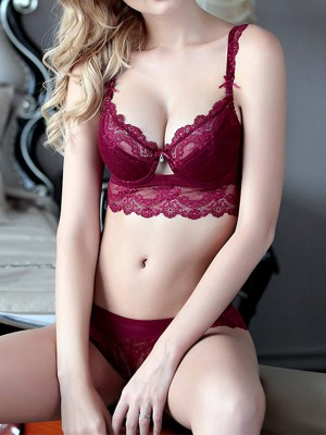 Girly Lace Bra Sets