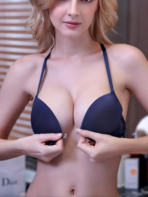 Pretty Halter Nylon Bra Sets