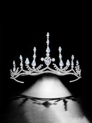 Special Alloy Bridal With Rhinestone Headpieces