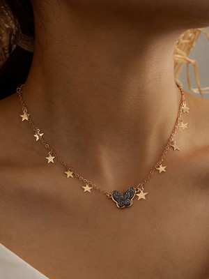 Amazing Alloy With Star Hot Sale Necklaces