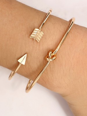 Charming Korean Alloy Hot Sale Bracelets(2 Pieces)