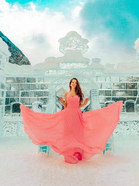 A-Line/Princess Chiffon Sleeveless Sweetheart Pleats Floor-Length Dresses