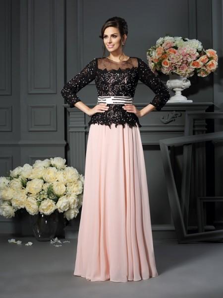 A-Line/Princess Sweetheart Sleeveless Long Chiffon Mother of the Bride Dresses