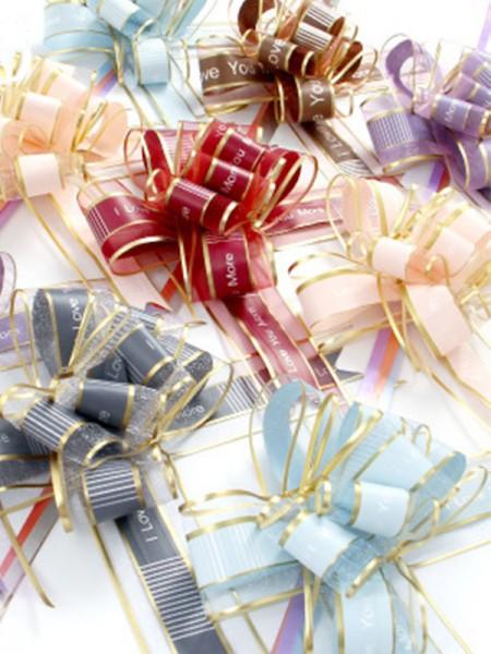 Beautiful Chiffon Gift Decorations(10 Pieces)