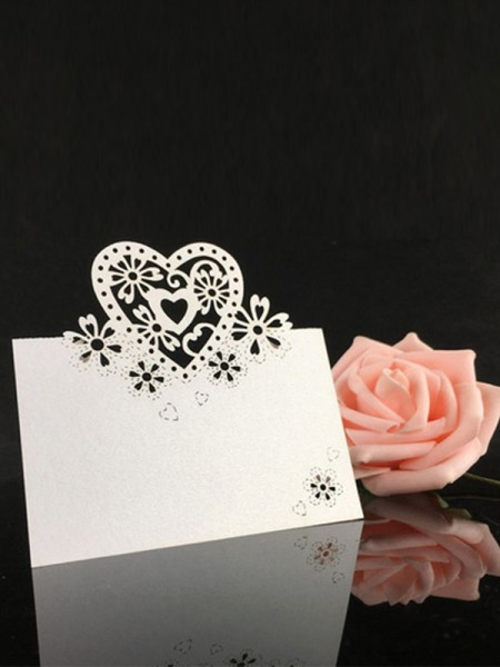 Delicate Table Number Cards(50 Pieces)