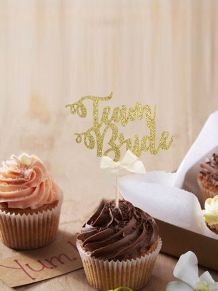 Shinning Wedding Cake Topper(60 Pieces)